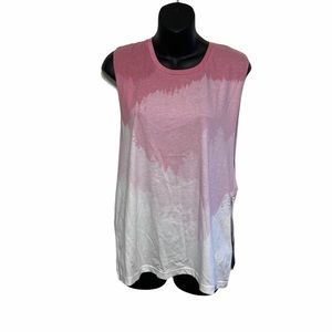 NWT TenTree sleeveless pink tree tank